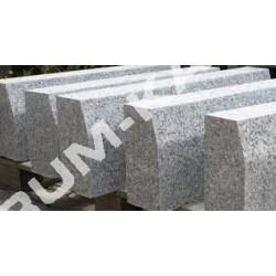 Krawężnik uliczny 15x30 granitowy szary z fazą