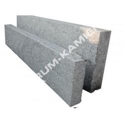 Obrzeże  8x25 granitowe szare