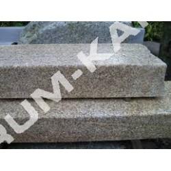 Stopnie blokowe 35x15 granitowe szare