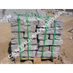 Kamień murowy 10x20x40 surowo-łupany szary