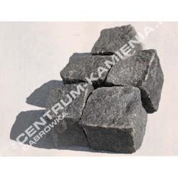 Kostka brukowa granitowa 4/6 cm czerwona surowo-łupana