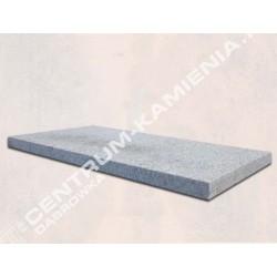 Płyty płomieniowane granitowe 40x60 gr.6cm szare